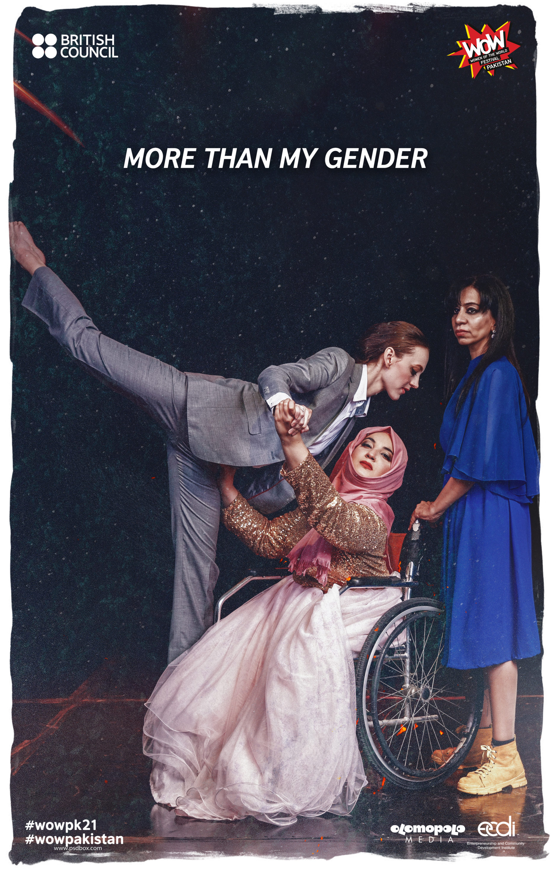more than my gender poster